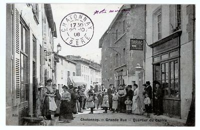 (S-91384) France - 38 - Chatonnay Cpa