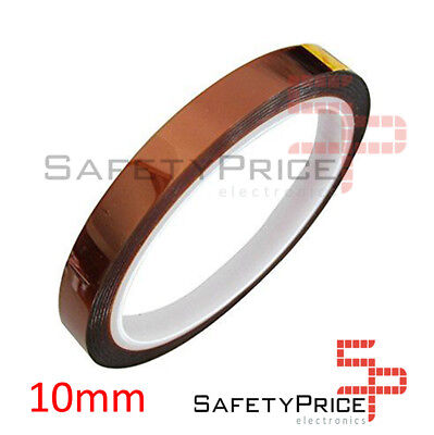 Cinta Kapton Termica 10mm Tape Temperature Resistant Polyimide 3D Printer SP
