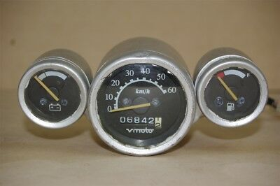 Used Speedometer Dash, Battery And Fuel Gauges for a VMoto Milan 50cc Scooter