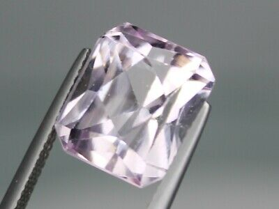 12.35ct Natural Pink Kunzite 13x11.5mm Loose VS Gemstone Octagon Afghanistan