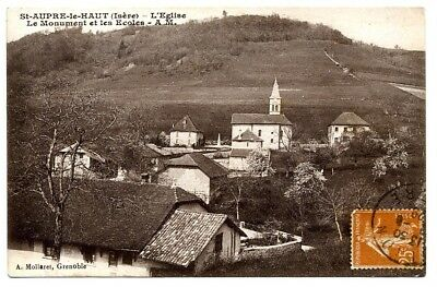 (S-106383) FRANCE - 38 - ST AUPRE CPA      A.M. ed.