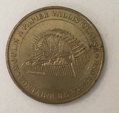 Monnaie de paris moulin a papier vallis clausa