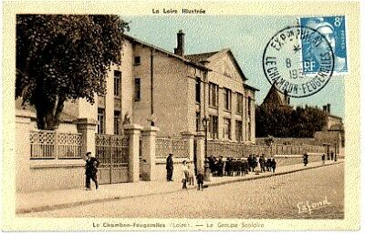 (S-44760) FRANCE - 42 - LE CHAMBON FEUGEROLLES CPA      LAFOND  ed.
