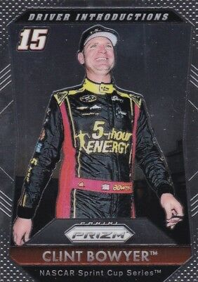 Clint Bowyer - 2016 Panini Prizm Racing, Driver Introductions, #86