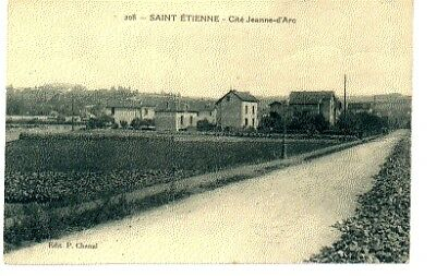 (S-58921) FRANCE - 42 - ST ETIENNE CPA      CHANAL P. ed.
