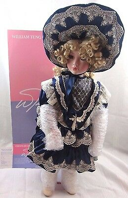 """Lisa 21"""" inch Doll from the William Tung Collection Limited Edition #1218/4000"""