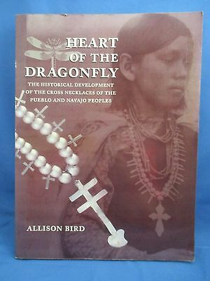 Heart Of The Dragonfly Allison Bird Paperback Hard To Find Navajo Cross Necklace