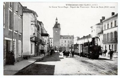 (S-26455) FRANCE - 47 - VILLENEUVE SUR LOT CPA      ASTRUC G. ed.