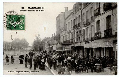 (S-26456) FRANCE - 47 - MARMANDE CPA      MAGASINS REUNIS ed.