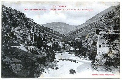 (S-114221) FRANCE - 48 - STE ENIMIE CPA      LABOUCHE Freres ed.