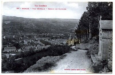 (S-114264) FRANCE - 48 - MENDE CPA      LABOUCHE Freres ed.