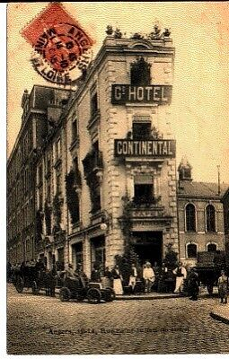 (S-42782) France - 49 - Angers Cpa Grand Hotel Continental Cafe Restaurant - Ani
