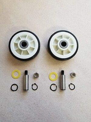 2 Pack Maytag Dryer Roller Wheel Drum Support Kit 303373K for 12001541 312948