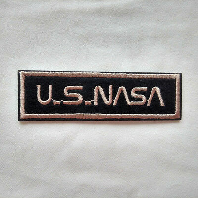 U.S.NASA Embroidered Applique Patch Cool Gift Iron On Jersey Clothes Jacket