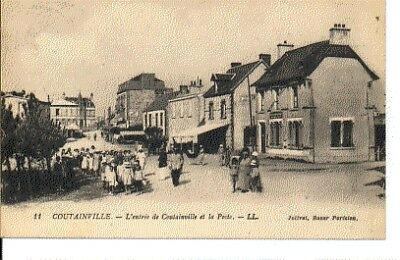 (S-35198) FRANCE - 50 - COUTAINVILLE CPA      JOLIVET ed.