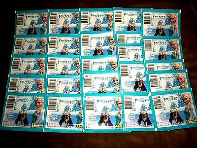 "2015 Panini Disney Frozen ""ENCHANTED MOMENTS"" Lot of 25 Sealed Sticker Packs..."
