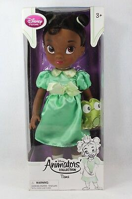 Disney Store Animators' Collection Doll 16 Tiana Naveen Princess and the Frog