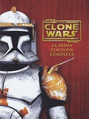 DVD STAR WARS THE CLONE WARS STAGIONE 01 varie Warner Home Video 1.85:1 Nuovo