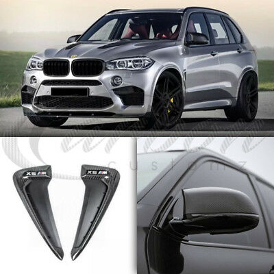BMW X5M (F15) Real Carbon Fibre Mirror Covers & Side Grilles Pack M Performance