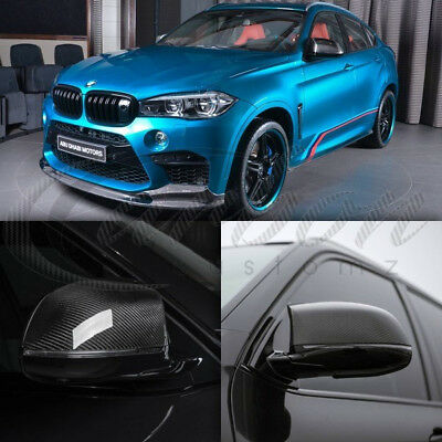 BMW X6M (F16) Real Carbon Fibre Mirror Covers M Performance Style (PAIR) 2013 +