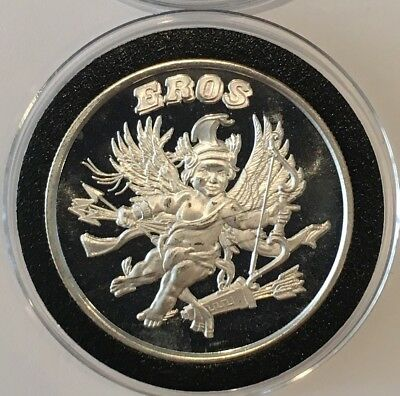 1st In The Series Iroquois Confederacy Chief Hiawatha .999 Fine Silver Art Round