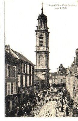 (S-96860) France - 52 - Langres Cpa Procession