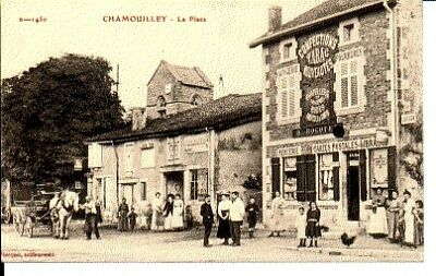 (S-32557) FRANCE - 52 - CHAMOUILLEY CPA      HOCQUET  ed.
