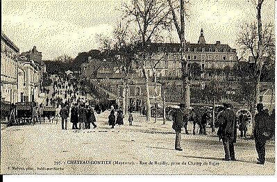 (S-25536) FRANCE - 53 - CHATEAU GONTIER CPA      MALICOT J.  ed.