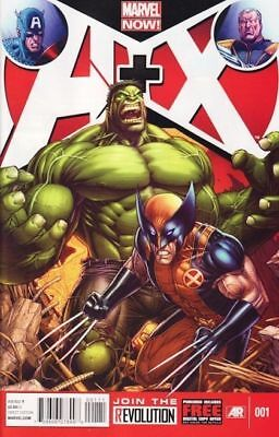 A+X #1 #3 #4 #5 #6 #7 #8 lot (NM) AVENGERS & X-MEN - MARVEL COMICS si#102