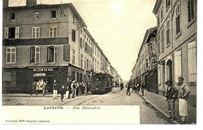 (S-92728) France - 54 - Luneville Cpa