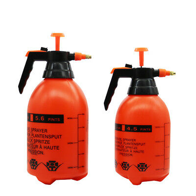 2L/3L Water Chemical Sprayer Pressure Garden Portable Handheld Spray Bottle