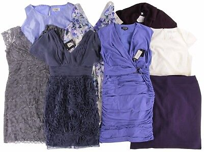 Wholesale Lot Designer Women's Dresses and Apparel New With Flaws 10PC Clothing