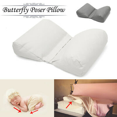 US STOCK Newborn Photography Posing Butterfly Pillow Poser Backdrop Photo Prop