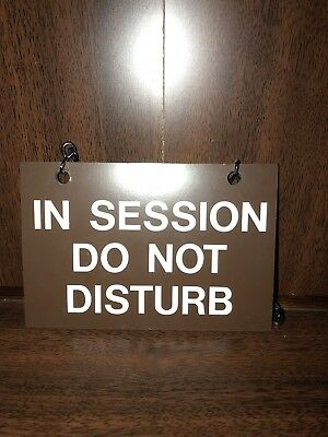sh quiet in session please do not disturb sign business meeting door