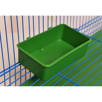 Aviary Cup Bird Parrot Pet Cage Water Food Bowl Feeding Bath Cage Supplies