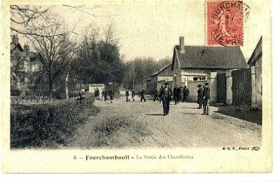 (S-98687) FRANCE - 58 - FOURCHAMBAULT CPA      B.F. PARIS  ed.