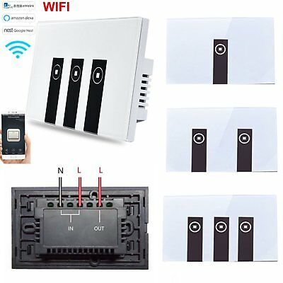 Domotica Intettuttore WiFi Touch Smart Switch Telecomando IOS/Android APP Alexa