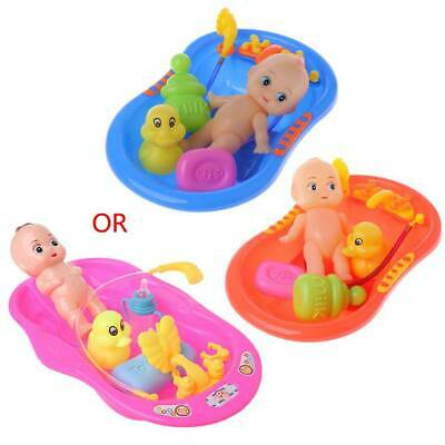 Bathtub With Baby Doll Bath Early Educational Toy For Child Water Floating Toys