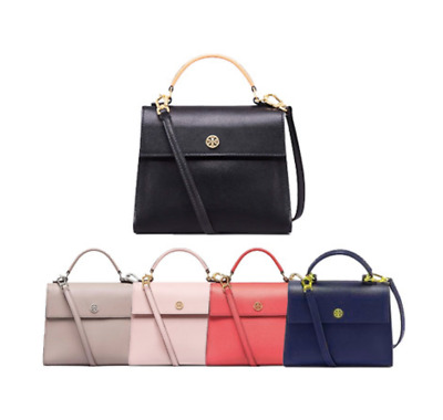 TORY BURCH Parker Small Satchel Bag Free Gift Free Shipping