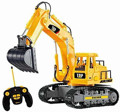 Excavator Toy Remote Control Construction Tractor Truck Vehicle Full Functional