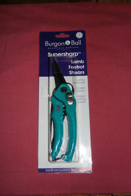 Burgan And Ball Foot Rot Shears - Sheep/lamb New Design