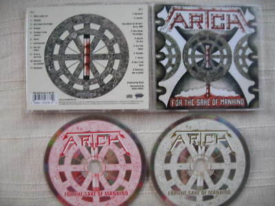ARTCH - For the sake of mankind / Time waits for no one 1991/2001 2CD Ltd