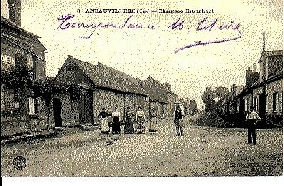 (S-33252) FRANCE - 60 - ANSAUVILLERS CPA      BOCQUET Vve  ed.