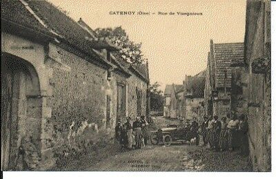 (S-75514) France - 60 - Catenoy Cpa