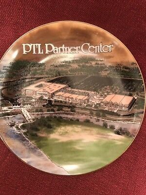 PTL Club Partner Center Limited Edition Plate (heritage USA)
