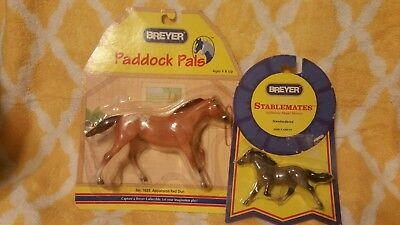 2 New Breyer Stablemates And Paddock Pals Model Horses Still In Packages