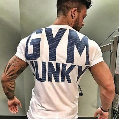 Gym Junky t shirt available in different colors