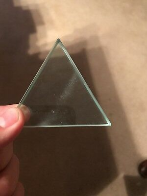 glass triangular prism new
