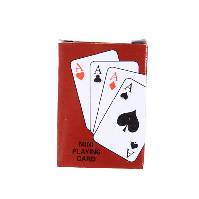 New Foil Plated Poker Playing Cards Traditional Set With Black Box Free  o1w