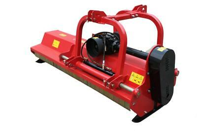 Flail Mower 2140mm, 410kg, + PTO + FREE set of cutters